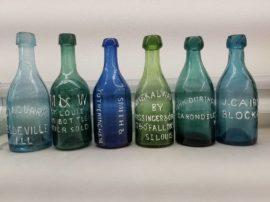 Antique St Louis Bottle, Circa 1850-1880