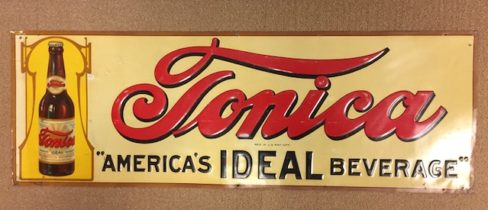 Tonica Ideal Beverage Tin Sign, Indianapolis, IN