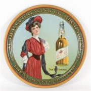 BIRMINGHAM BREWING CO., IDEAL BOTTLED BEER SERVING TRAY, AL.  Circa 1910