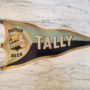 Lemp Beer Tally Pennant Tin Sign, St. Louis, MO. Circa 1900