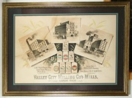 Valley City Milling Company Lithograph, Grand Rapids, MI. Circa 1900
