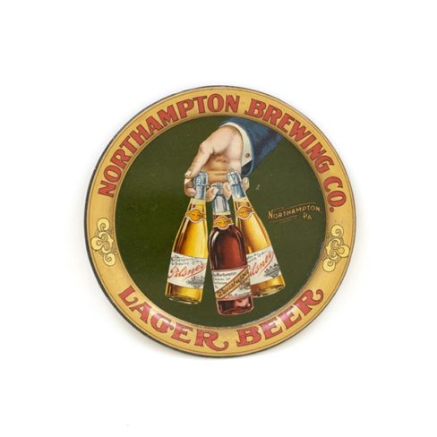Northhampton Brewing Co., Tip Tray, Northhampton, PA. Ca. 1910