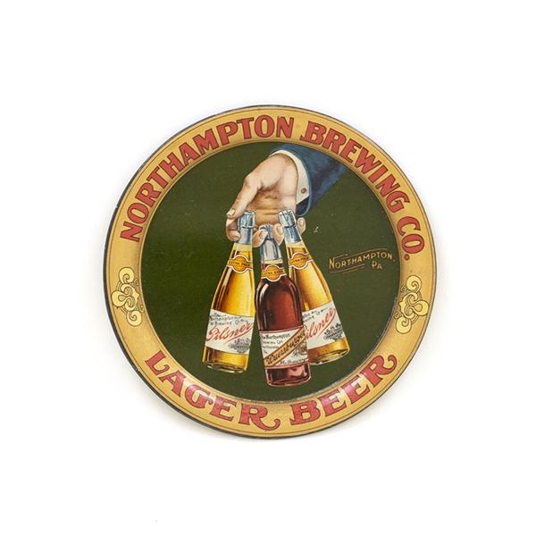 Northhampton Brewing Co., Tip Tray, Northhampton, PA. Ca. 1910