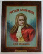 PETER SCHUYLER 10 CENT CIGAR, G. W. VAN SLYKE & HORTON, ALBANY, N.Y., Ca. 1905