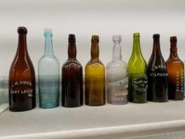 1800's era St. Louis Antique Bottles