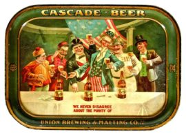 Union Brewing & Malting Co, San Francisco, CA Serving Tray