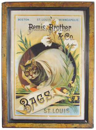 Bemis Brother & Company, Flour and Pulp Bags, St. Louis, MO. Circa 1900