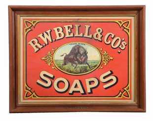 Schmidt Bros Brewing Co Lager Beer ROG Sign, Cincinnati, OH. Ca. 1900
