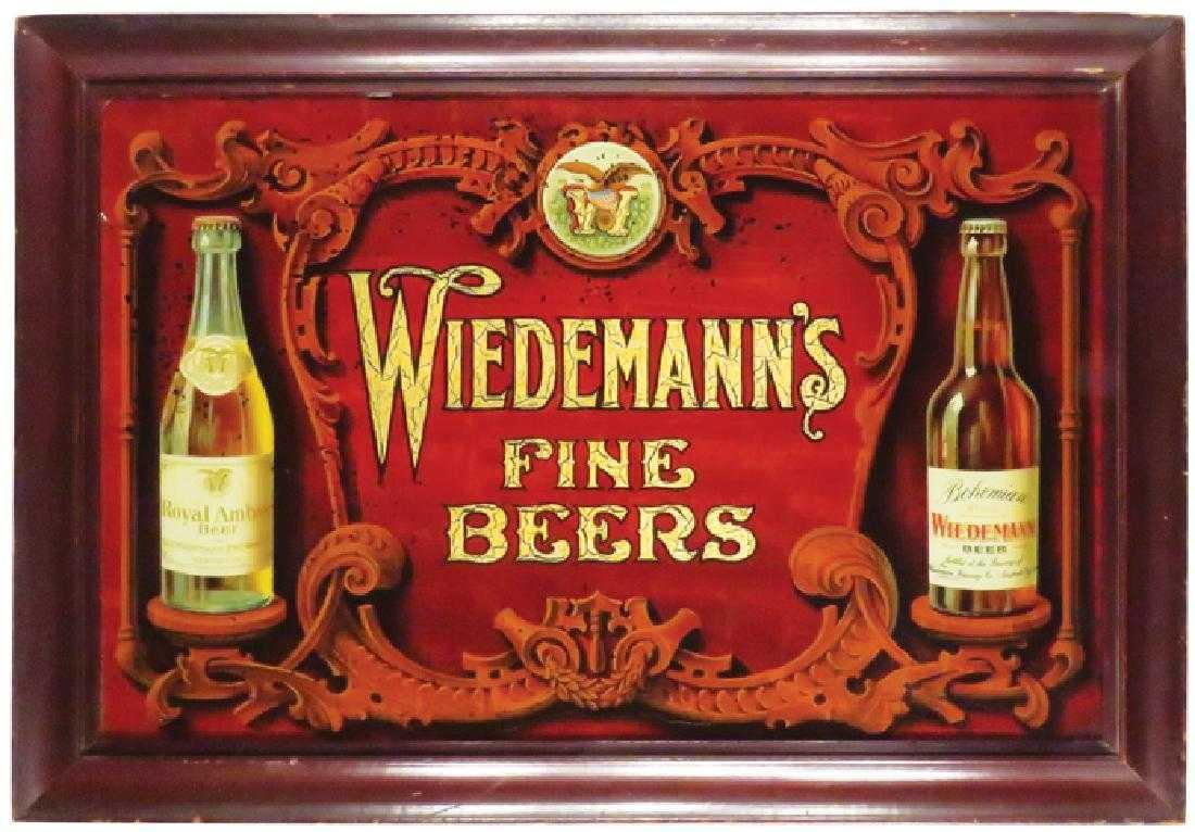 Wiedemann's Fine Beers ROG Sign, Cincinnati, OH. Circa 1910