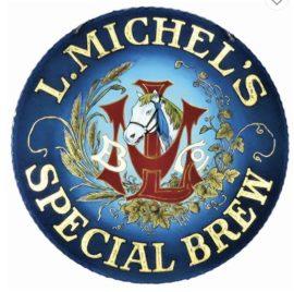 Leonhard Michel Brewing Co., Brooklyn NYC. ROG Sign, Ca. 1910