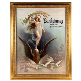 Bartholomay Brewing Company Lithographic Calendar, Rochester, N.Y. 1894